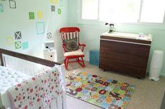 New nursery from @Jaime Derringer of Design Milk. Love her taste!