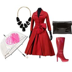 """Rainy days"" by pantofica on Polyvore"