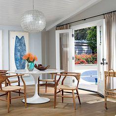Go Mod - Beach House Dining Rooms - Coastal Living