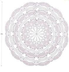 Crochet mandala cushion circles 31 Ideas for 2020 Crochet Doily Rug, Crochet Carpet, Crochet Mandala Pattern, Crochet Circles, Crochet Doily Patterns, Crochet Diagram, Crochet Round, Crochet Yarn, Thread Crochet