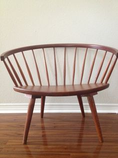 Love this chair!!   Yngve Ekstrom Arka Chair. via Etsy.