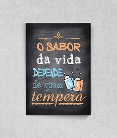 Poster Frase Divertida tipo Lousa