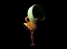 Paper Folding Fashion Collection
