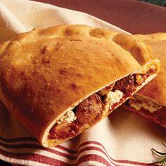 Party Size Sausage Calzone Allrecipes.com