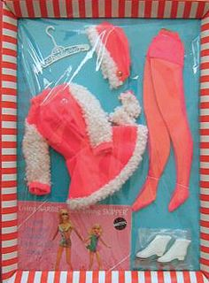 My one and only Barbie had to wear this or her swimsuit.  Tights were a pain to put on.