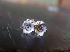 Blueberry Bud Posts  Nature Cast  Botanical Jewelry by ManiDesigns, $42.00
