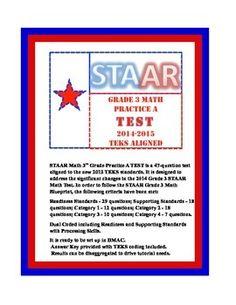 3rd grade staar math practice test 52 question 3rd grade. Black Bedroom Furniture Sets. Home Design Ideas