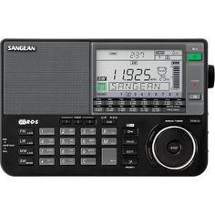 SANGEAN ATS-909X BK AM / FM / LW / SW Dünya Band Alıcı Radyosu