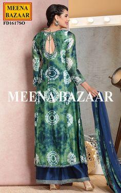 Green Chanderi Suit - Wedding Trousseau - Wedding
