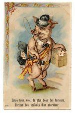 COCHONS PORC PIGS.LE FACTEUR THE FACTOR