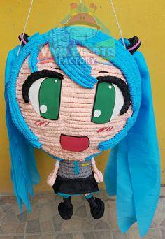 #Piñata #MikuHatsune  No hay personaje que #VivaPiñataFactory no pueda crear para ustedes.✏✂+=
