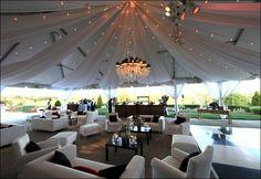 Fabric Draped Tent
