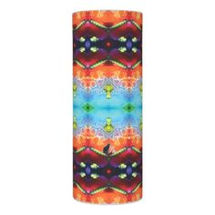 """50% OFF Candles – Use CODE: ZAZFALLDEALS until Midnite Tonite 9-20-17. Light up your life with a beautiful candle that is extraordinarily symmetrical. Similar to the currently trending """"Ikat"""" style, this design blends abstract art, technology and psychedelia in a completely unique fashion. Over 3000 products at my Zazzle online store. Open 24/7  World wide! Custom one-of-a-kind items shipped to your door. This design is exclusively…"""