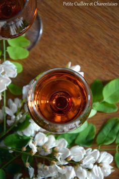 Petite Cuillère et Charentaises: Vin parfumé aux Fleurs d'Acacia Acacia, Liqueurs, Cocktails, Plants, Table, Pies, Pastries, Kitchens, Drink Recipes