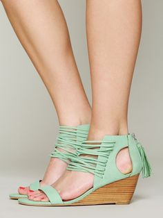 Matiko Cascade Mini Wedge at Free People Clothing Boutique