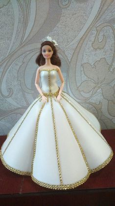 Ideas Para, Deco, Disney Princess, Disney Characters, Cakes, Art, Princesses, Manualidades, Barbie Dress