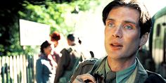 Pin for Later: 29 Cillian Murphy Movie GIFs That'll Convince You He's Frighteningly Sexy When he rocks WWII-era style in The Edge of Love, we nearly swoon.