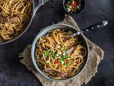 Speedy Chili Steak Pasta - ruckzuck auf dem Tisch