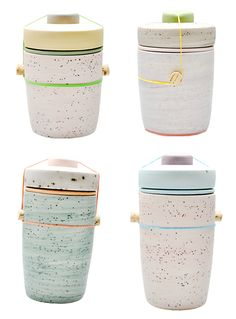 I dream of a home organized using these gorgeous ceramic jars...