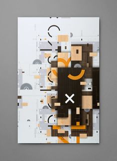 Polosko 4x8 Exhibition by Karnes Poster Company #print #graphicdesign