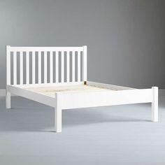 BuyJohn Lewis Wilton Bed Frame, Small Double, White Online at johnlewis.com