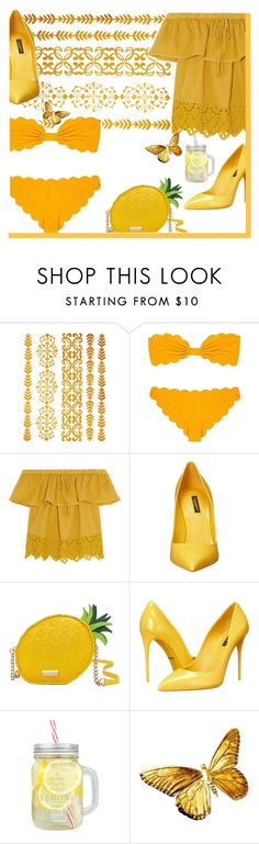 """Swimwear #3"" by galpaian-elisa on Polyvore featuring Marysia Swim, Madewell, Dolce&Gabbana and Kate Spade"