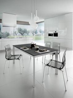 Look what I found on Wayfair Narrow Table, Extendable Dining Table, Dining Tables, Table And Chairs, Interior, Kitchen, Furniture, Design, Uk Shop