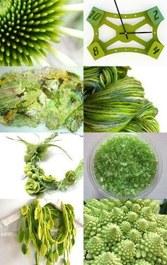 Abstract Lime by Barbara Woolmington on Etsy--Pinned with TreasuryPin.com