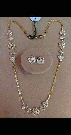 Ideas Jewerly Rings Simple Beautiful Diamonds For 2019 Jewelry Design Earrings, Gold Earrings Designs, Gold Jewellery Design, Gold Chain Design, Gold Ring Designs, Gold Jewelry Simple, Jewelry Patterns, Making Ideas, Bridal Jewelry