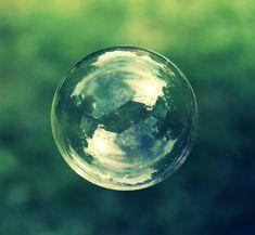 Bubble (houses reflected)