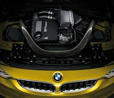 M4 coupe. paired with a six-cylinder twin turbocharged in-line engine that produces 431 horsepower and a six-speed manual gearbox, the two-door sports car launches from zero to 100 km/h (62 mph) in 4.1 seconds.