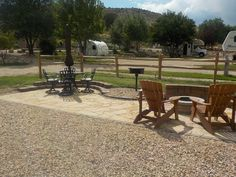 New RV Patio Site At The Cannonville/Bryce Valley KOA