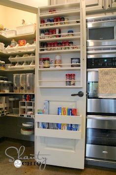 If you are running short of room in your food cabinets, make the best of your limited space with these 15 pantry organization projects!