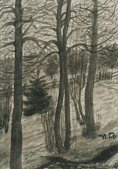 Nikolai Astrup (1880 - 1928) pintor noruego.