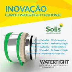 Inovação Solis! Você sabe o que é o sistema WT ou Watertight?  Este sistema patenteado pela Solis, a única empresa que tem esta inovação em seus produtos. Protege o reservatório térmico contra efeitos negativos de águas corrosivas. Atóxico, inodoro e que garante total qualidade da àgua. Muito mais durabilidade e garantia de conforto para nossos clientes por muito mais tempo. Você merece o melhor. Você merece Solis! #solisfeitoparadurar #Sol  #omelhorestaaqui #DigitalGuruShop