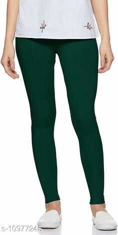Checkout this latest Leggings Product Name: *Sakhi Shine Ankle Length Cotton Legging* Fabric: Cotton Lycra Pattern: Solid Multipack: 1 Sizes:  28, 30, 32, 34, 36, 38 (Waist Size: 38 in, Length Size: 38 in)  40, 42, 44 Country of Origin: India Easy Returns Available In Case Of Any Issue   Catalog Rating: ★3.9 (404)  Catalog Name: Fashionable Feminine Women Leggings CatalogID_2033476 C79-SC1035 Code: 782-10977245-936