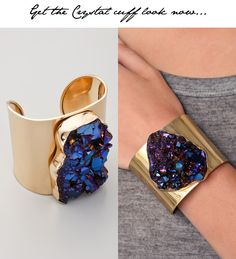 Beautiful cuff! Like something from another world.