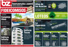 Cliente: Benvenuto & Zanni Trabajo: diseño de folleto