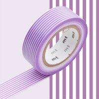 MT Masking Tape // 1P Deco // Border Purple-20