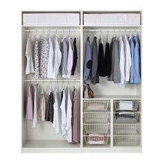 PAX Armario - bisagra cierre suave, 200x60x236 cm - IKEA