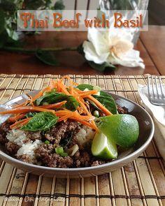 Thai Beef with Basil | Taking On Magazines | www.takingonmagazines.com