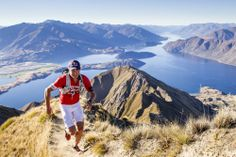 Hot Currie: Braden Currie (winner of the Mark Webber Tasmania Challenge last year) running in Wanaka, New Zealand. http://win.gs/1qmZl7X. Image: Miles Holden #pictureperfect #tasmaniachallenge #mountainrunning