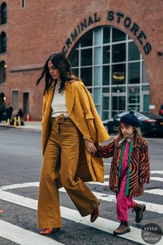 New York FW 2019 Street Style, Style and Fashion 2019 Fashion trends 2019 , Fashion Week, New York Fashion, Kids Fashion, Fashion Trends, Paris Fashion, Women's Fashion, Cool Street Fashion, Street Chic, Mommy And Me Outfits