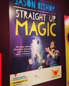 """Having a magical date tonight with my son at the New Victory Theater! """"Jason Bishop: Straight Up Magic"""" performing now through November 27. @newvictorytheater #loveoftheater #MacKid"""