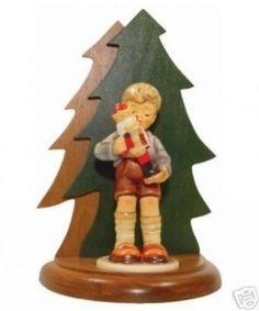 M.I. Hummel Nutcracker Sweet Wood Base 801012