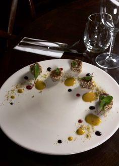 Ivan Kuchár's (brand chef of Rio Grande Restaurant, Night Bar & Café and Barrock) take on traditional brazilian dessert - Brigadeiro