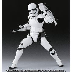 S.H. Figuarts Star Wars - First Order Stormtrooper with Shield & Baton Set TamashiWeb Exclusive