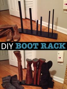 15 Minute Boot Rack