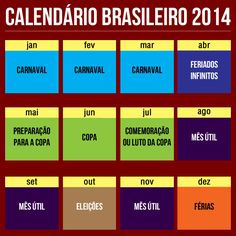 Calendário brasileiro