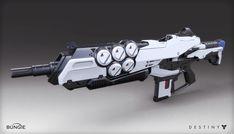 ArtStation - Destiny - The Taken King - Assault Rifle, Mark Van Haitsma